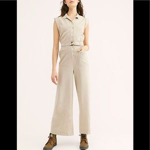 Free People Hot Shot Jumpsuit